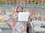 पुलवामा शहीद हेमराज की सांगोद में 1 माह में प्रतिमा नहीं लगी ताे कलेक्ट्रेट पर धरना देगी वीरांगना पत्नी|कोटा,Kota - Dainik Bhaskar