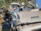 रायगढ़ में ट्रक से बचने के दौरान गड्ढे में गिरी बोलेरो; 3 युवकों की मौत, 2 घायल|छत्तीसगढ़,Chhattisgarh - Dainik Bhaskar