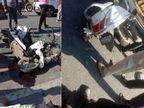 वडनगर-विसनगर हाईवे पर ट्रक ने एक्टिवा को मारी टक्कर, एक्टिवा सवार तीनों युवकों की मौके पर ही मौत|गुजरात,Gujarat - Dainik Bhaskar