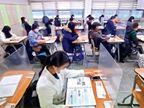 दक्षिण कोरिया में कोरोना संक्रमण की तीसरी लहर के बीच यूनिवर्सिटी-एंट्रेंस एग्जाम, 35 पॉजिटिव भी बैठे|विदेश,International - Dainik Bhaskar