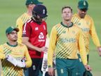 साउथ अफ्रीका-इंग्लैंड के बीच पहला वनडे रद्द; इंग्लिश टीम के 2 मेंबर्स की रिपोर्ट सस्पेक्टेड पाई गई|स्पोर्ट्स,Sports - Dainik Bhaskar