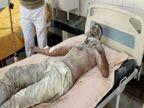SSP आवास के बाहर युवक ने किया आत्मदाह का प्रयास, पुलिस को मुखबिरी करने के चक्कर में मिल रही थी जान से मारने की धमकी उत्तरप्रदेश,Uttar Pradesh - Dainik Bhaskar