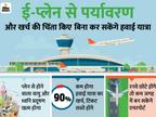 बैटरी वाले प्लेन आते ही बेहद सस्ते हो जाएंगे हवाई जहाज के टिकट, 100 किमी की यात्रा में 222 रुपए का खर्च|DB ओरिजिनल,DB Original - Dainik Bhaskar