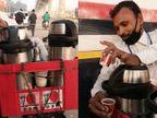 लॉकडाउन में नौकरी गई तो एक थर्मस से पैदल चाय बेचनी शुरू की, अब हर महीने 40 हजार रु. कमाई|ओरिजिनल,DB Original - Dainik Bhaskar