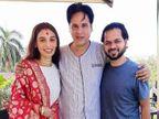 हॉस्पिटल से राहुल रॉय का वीडियो आया सामने; बहन का सहारा लेकर खड़े थे एक्टर, बोले- मैं ठीक हो रहा हूं, जल्दी लौटूंगा बॉलीवुड,Bollywood - Dainik Bhaskar
