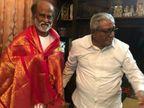 जन्मदिन और राजनीति के रण में उतरने से पहले रजनीकांत ने लिया बड़े भाई सत्यानारायण का आशीर्वाद|बॉलीवुड,Bollywood - Dainik Bhaskar