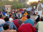भारत बंद हो या कोरोना संक्रमण, चुनाव का प्रचार नहीं थमता, अलवर में छह पालिकाओं के चुनाव 11 को अलवर,Alwar - Dainik Bhaskar