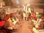 40 किमी के आंदोलन स्थल पर 150 से ज्यादा लंगर, खाने में शाही पनीर से मलाई काेफ्ता तक,देसी घी के लड्डुओं से करा रहे मुंह मीठा|पंजाब,Punjab - Dainik Bhaskar