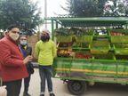 सॉफ्टवेयर इंजीनियर ने नौकरी न मिलने पर घर-घर फल और सब्जी पहुंचाने के लिए शुरू किया शॉप ऑन व्हील|ओरिजिनल,DB Original - Dainik Bhaskar