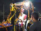 न कार न बग्गी... ट्रैक्टर पर निकली ओलिंपियन सुमित सांगवान की बारात, खेल मंत्री संदीप सिंह भी नजर आए|हरियाणा,Haryana - Dainik Bhaskar