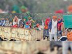 चूल्हा-चौका छोड़कर आंदोलन में आई पंजाब व सिसाना गांव की महिलाएं बोलीं-घर के ताले तब खुलेंगे, जब यहां से अपना हक लेकर जाएंगे|राई (सोनीपत),Rai (Sonipat) - Dainik Bhaskar