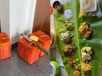 तमिल के कपल ने शादी में मेहमानों के लिए खाने की होम डिलिवरी की, चार खूबसूरत बास्केट में खाना भेजकर सबको कर दिया खुश लाइफस्टाइल,Lifestyle - Dainik Bhaskar