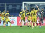 हैदराबाद टीम ने 4 मैच में तीसरी बार ड्रॉ खेला, मोहन बागान पॉइंट टेबल में दूसरे नंबर पर|स्पोर्ट्स,Sports - Dainik Bhaskar