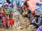 बांग्लादेश में समुद्र के बीच बने कैंप में भेजे जा रहे राेहिंग्या, बाेले- हम दक्षिण एशिया के 'फिलिस्तीनी' बनाए जा रहे|विदेश,International - Dainik Bhaskar
