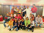 बिलासपुर हॉकी ने खेल और शैक्षणिक गतिविधियों में विशेष स्थान प्राप्त खिलाड़ियों को सम्मानित किया|बिलासपुर,Bilaspur - Dainik Bhaskar