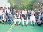 12 ग्राम सेवा सहकारी समितियाें को कस्टम हायरिंग सेंटर बनाया विधानसभाध्यक्ष जोशी और प्रभारी मंत्री आंजना ने की शुरुआत|नाथद्वारा,Nathdwara - Dainik Bhaskar