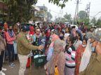 ढाई करोड़ की ठगी मामले में दूसरे दिन भी पीड़ितों ने किया हंगामा, जबलपुर बुक पब्लिकेशन के संचालकों पर FIR|जबलपुर,Jabalpur - Dainik Bhaskar