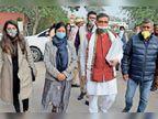 कांग्रेस की मीना और अम्बाला मंच की गुरमीत ने भरा मेयर का पर्चा, भाजपा की वंदना को दो बार लौटना पड़ा|अम्बाला,Ambala - Dainik Bhaskar