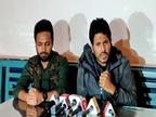 पंजाबी गायक जस बाजवा वश्री बराड़ ने कहा, किसान एंथम डिलीट करने के पीछे बड़ी साजिश|चंडीगढ़,Chandigarh - Dainik Bhaskar
