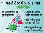 कोवैक्सिन के फेज-1 ट्रायल्स के नतीजे सामने आए; देश में बनी यह वैक्सीन सेफ और इफेक्टिव|देश,National - Dainik Bhaskar