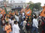 भाजपा ने पश्चिम बंगाल में केंद्रीय मंत्रियों की फौज उतारी, हर एक के हिस्से में 6-7 लोकसभा क्षेत्र|देश,National - Dainik Bhaskar