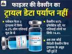 फाइजर की वैक्सीन को अप्रूवल देने से पहले लोकल ट्रायल्स के लिए कह सकता है भारत|कोरोना - वैक्सीनेशन,Coronavirus - Dainik Bhaskar