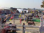 30 बाय 15 फीट के टैंट से शुरू हुआ सिलसिला 1 किमी तक पहुंचा, किसानों को जोड़ने की कवायद जारी|अलवर,Alwar - Dainik Bhaskar