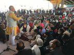 किसान आंदोलन के जवाब में भाजपा का SYL कार्ड, एकदिन उपवास पर रहे भाजपा नेता|पानीपत,Panipat - Dainik Bhaskar