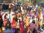 हाइवे पर एक घंटे में फंसी रही पुलिस, धोखाधड़ी का आरोपी भागा, हंगामा कर रही महिलाओं पर मामला दर्ज|ग्वालियर,Gwalior - Dainik Bhaskar