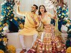 गौहर खान-जैद दरबार की शादी की रस्में हुईं शुरू, पहले दिन हुए चिकसा फंक्शन की फोटो आई सामने|बॉलीवुड,Bollywood - Dainik Bhaskar