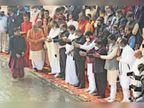 टूटी परंपरा, नहीं पहुंचे राज्यपाल, हिमाचल के सीएम ने किया मुख्य महोत्सव का उद्घाटन, प्रदेश के एक ही मंत्री शामिल|कुरुक्षेत्र,Kurukshetra - Dainik Bhaskar