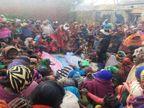 वाराणसी पहुंचीं पांच डेडबॉडी, सिवनी में सोमवार को तेज रफ्तार में टैंकर से टकराई थी कार वाराणसी,Varanasi - Dainik Bhaskar