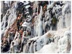 कश्मीर में झीलें और झरने जमने लगे, माउंट आबू में लगातार 11वें दिन बर्फ जमी; मैदानों में तापमान गिरेगा|देश,National - Dainik Bhaskar