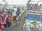 रोड शो करने पहुंचे भाजपा सांसद मनोज तिवारी बोले-अम्बाला में पहली बार आया हूं, रिटर्न गिफ्ट दें अम्बाला,Ambala - Dainik Bhaskar