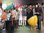 थाली और ताली बजाकर हरियाणा-पंजाब के किसान बोले-PM जन की नहीं सुनते, हम उनके मन की क्यों सुनें|हरियाणा,Haryana - Dainik Bhaskar
