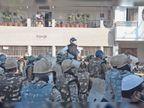 दिन में धरना और हंगामा, रात में ताले लगाकर घरों से चले गए बेगमबाग के अधिकांश लोग|उज्जैन,Ujjain - Dainik Bhaskar