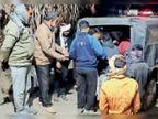 पैर का इलाज कराकर घर लौट रहा था, रास्ते में बदमाशों ने स्कूटी रुकवाई, चाकू से किया हमला|करौली,Karauli - Dainik Bhaskar