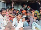 महाराष्ट्र के बीड़ जिले से 19 बंधुआ मजदूर छुड़वाए, लग्जरी बस से ले गए, वहां पीटते थे, घर पर खबर दी तो कुत्ते से कटवाया|झाबुआ,Jhabua - Dainik Bhaskar