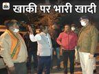 BJP सांसद के भतीजे से मारपीट के बाद हंगामा; कॉलेज कैम्पस में घुसे नेताओं ने प्रोफेसर्स काे पीटा|जबलपुर,Jabalpur - Dainik Bhaskar