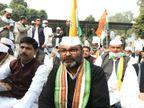 संदेश यात्रा को मंजूरी न मिलने पर प्रदेश अध्यक्ष लल्लू उपवास पर बैठे, प्रियंका गांधी ने कहा- ये लोकतंत्र की हत्या है|लखनऊ,Lucknow - Dainik Bhaskar