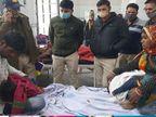 पति ने मायके जाने से रोका तो पत्नी ने गुस्सेे में सरिया से खुद और दो बच्चों को घायल किया उज्जैन,Ujjain - Dainik Bhaskar