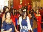चंडीगढ़ शहर की महिलाओं ने फूड-गेम्सऔर डांस के जरिए नए साल को लेकर जश्न मनाया चंडीगढ़,Chandigarh - Dainik Bhaskar