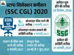 कंबाइंड ग्रेजुएट लेवल के लिए नोटिफिकेशन जारी, 6506 पदों के लिए 31 जनवरी तक जारी रहेगी एप्लीकेशन प्रोसेस, 29 मई से होगी परीक्षा|करिअर,Career - Dainik Bhaskar