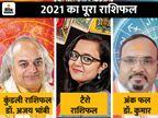 कुंडली, न्यूमरोलॉजी और टैरो कार्ड्स से जानिए आपके लिए कैसा रहेगा नया साल|ज्योतिष,Jyotish - Dainik Bhaskar