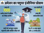 भारतीय छात्रों को कम्प्यूटर साइंस की पढ़ाई कराएगी कंपनी, 100 छात्रों को 7.32 लाख की स्कॉलरशिप भी देगी|टेक & ऑटो,Tech & Auto - Dainik Bhaskar