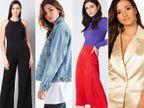2021 का स्वागत करें पूरे स्टाइल के साथ, विंटर पार्टी में पहनें सैटिन मिडी स्कर्ट, ब्लैक जंपसूट और मैटेलिक ब्लेज़र देंगे आपको परफेक्ट लुक|लाइफस्टाइल,Lifestyle - Dainik Bhaskar