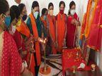 श्रीराम मंदिर निर्माण के लिए चंदा लेने गांव-गांव जाएगी VHP की दुर्गावाहिनी|मध्य प्रदेश,Madhya Pradesh - Dainik Bhaskar