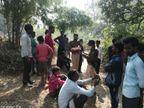 पैसों को लेकर रात में हुई कहासुनी; सुबह पहले इकलौता बेटा, फिर पिता आम के पेड़ से लटक गए|जबलपुर,Jabalpur - Dainik Bhaskar