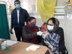लखनऊ के 6 अस्पतालों में हुआ वैक्सीनेशन का ट्रायल, KGMU में चला ड्राई रन अभियान, आला अधिकारी रहे चौकस|लखनऊ,Lucknow - Dainik Bhaskar
