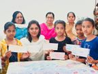 दान लेकर गरीब बच्चियों की फीस देती हैं निशिता, अब तक 30 हजार बच्चियों पर 3.25 करोड़ खर्च कर चुकीं DB ओरिजिनल,DB Original - Dainik Bhaskar